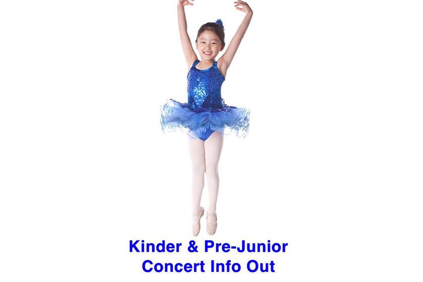 Kinder & Pre-Junior Concert Information