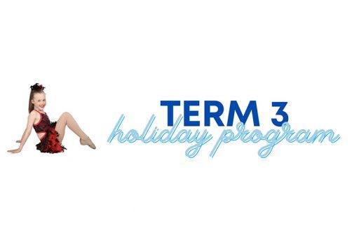 Term 3 Holiday Program 2020