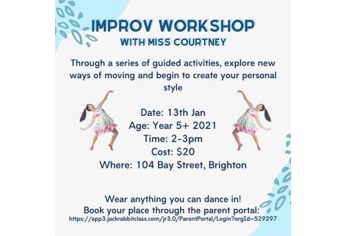 Holiday Program – Improv Workshop