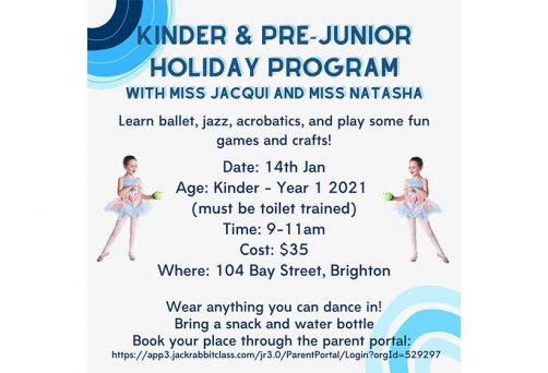 Holiday Program – Kinder & Pre-Junior
