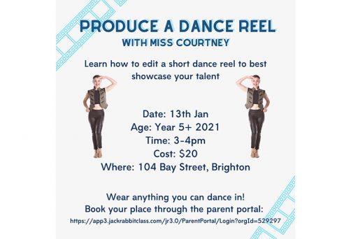 Holiday Program – Produce a Dance Reel